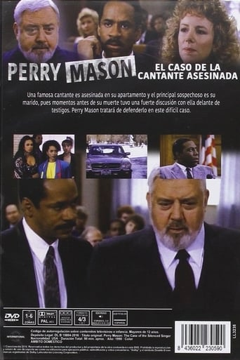 Poster of Perry Mason: The Case of the Silenced Singer