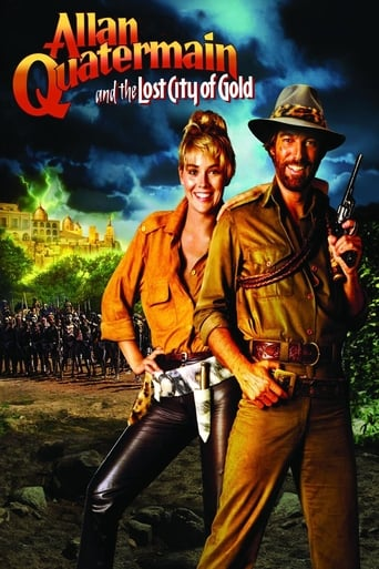 Allan Quatermain and the Lost City of Gold (1986) - poster