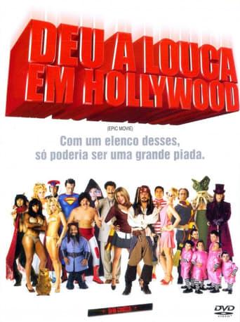 Deu a Louca em Hollywood - Poster