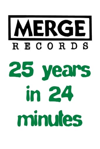 Poster of Merge Records: 25 Years in 24 Minutes
