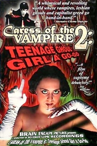 Caress of the Vampire 2: Teenage Ghoul Girl A Go-Go Movie Poster