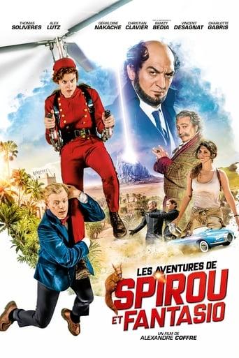 As Fantásticas Aventuras de Spirou e Fantasio - Poster