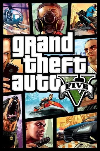 Poster of Grand Theft Auto V