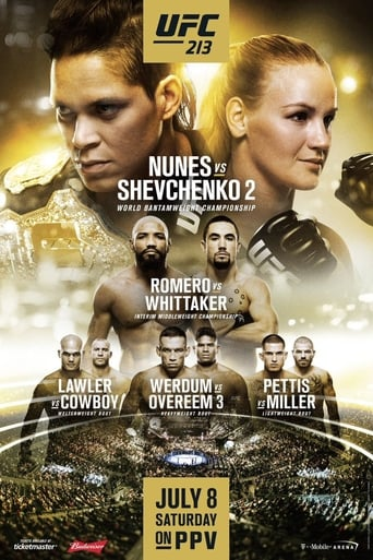 Poster of UFC 213: Romero vs. Whittaker
