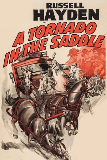 Poster of A Tornado in the Saddle