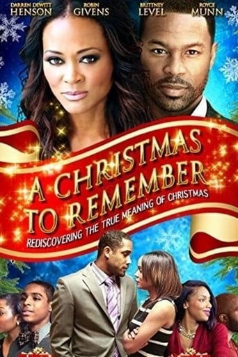 Poster of A Christmas to Remember