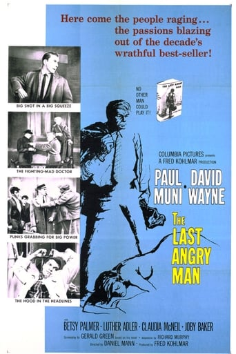 Official movie poster for The Last Angry Man (1959)