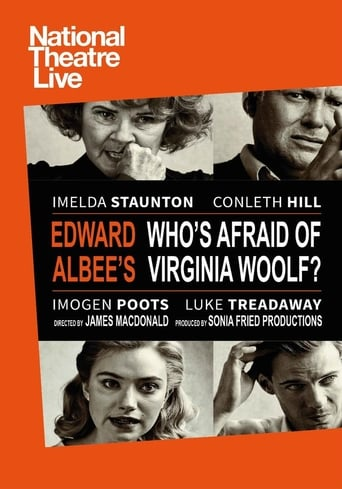 Poster of National Theatre Live: Edward Albee's Who's Afraid of Virginia Woolf?