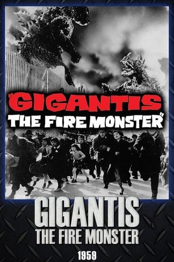 Poster of Gigantis the Fire Monster