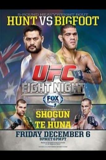 Poster of UFC Fight Night 33: Hunt vs. Bigfoot