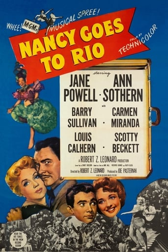 Poster of Nancy Goes to Rio
