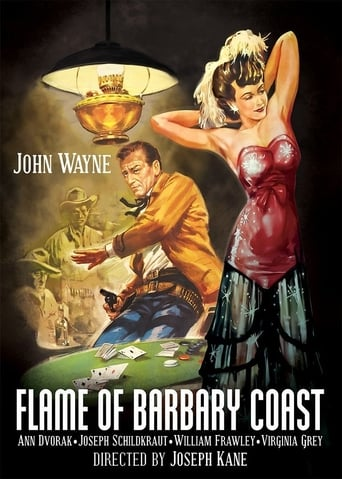 Poster of Flame of Barbary Coast fragman