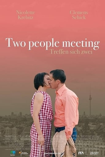 Poster of Two Peole Meeting