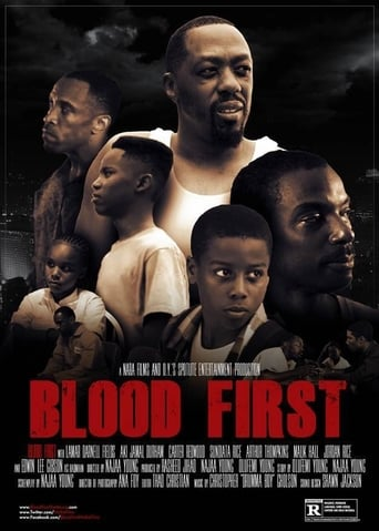 Blood First (2014) - poster