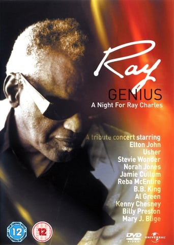 Poster of Genius. A Night for Ray Charles