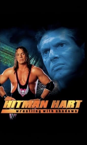 Poster of Hitman Hart: Wrestling with Shadows