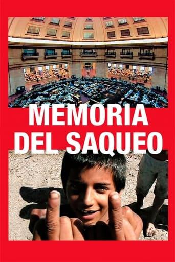 Poster of Memoria del saqueo
