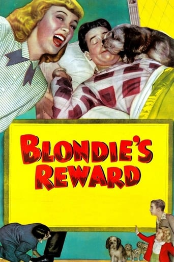 Poster of Blondie's Reward