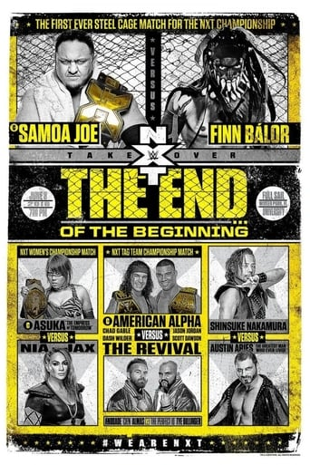 Poster of NXT TakeOver: The End