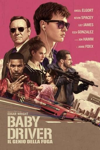 Poster of Baby Driver - Il genio della fuga