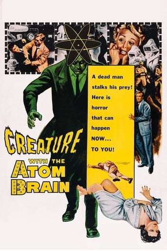 Poster of Creature with the Atom Brain