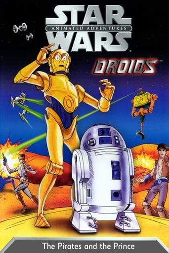 Poster of Star Wars Droids: The Pirates and the Prince