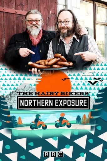 The Hairy Bikers'  Northern Exposure poster