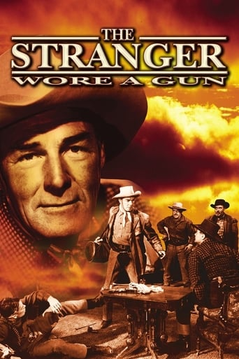 Poster of The Stranger Wore a Gun
