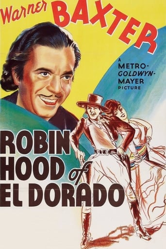 Poster of Robin Hood of El Dorado