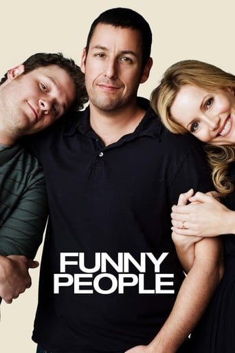 Funny People (2009) - poster