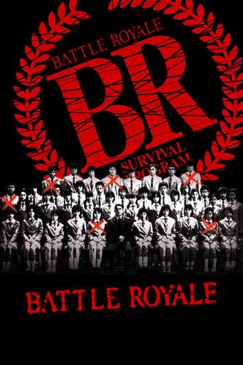 Battle Royale (2000) - poster