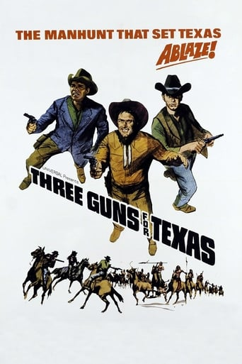 Poster of Three Guns for Texas