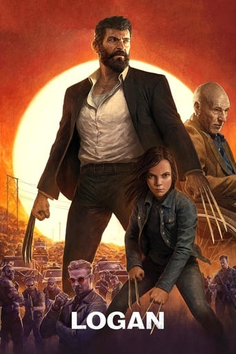 Official movie poster for Logan (2017)