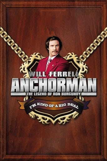Anchorman: The Legend of Ron Burgundy (2004) - poster