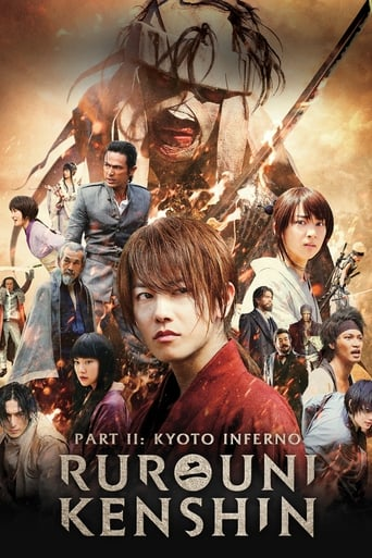 Poster of Rurouni Kenshin Part II: Kyoto Inferno