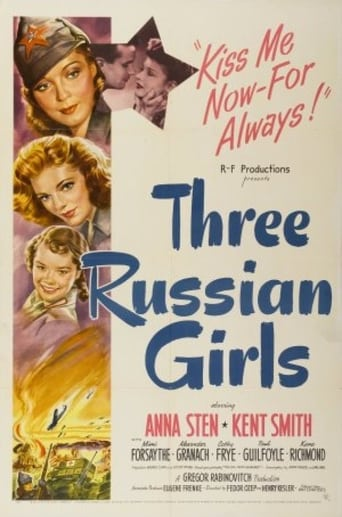 Poster of Three Russian Girls