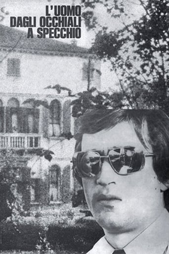 Poster of The Man with Mirrored Glasses