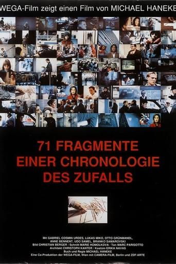 Poster of 71 fragmentos de una cronología del azar