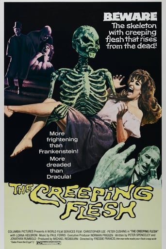 The Creeping Flesh Poster