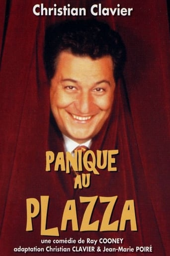 Poster of Panique au Plazza
