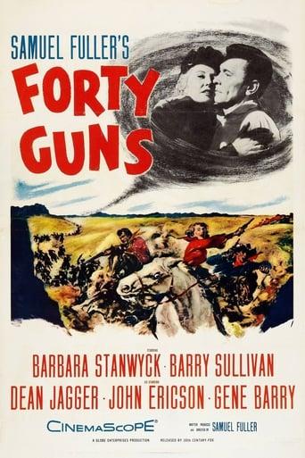 Forty Guns (1957) - poster
