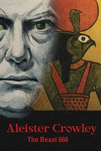 Poster of Aleister Crowley: The Beast 666