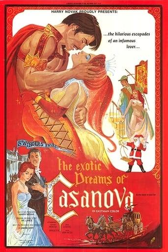 Poster of The Exotic Dreams of Casanova