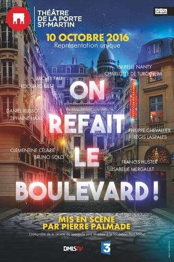Poster of On refait le boulevard (théâtre)