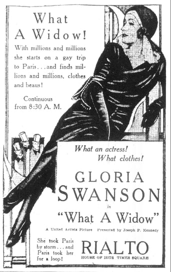 Poster of What a Widow!