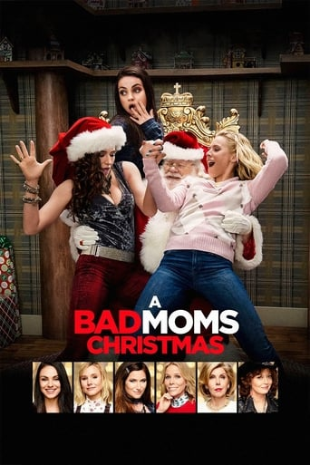 Official movie poster for A Bad Moms Christmas (2017)