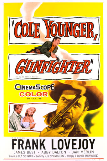Poster of Cole Younger, Gunfighter