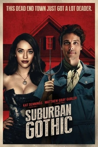 Poster of Suburban Gothic