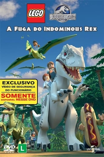 Lego Jurassic World A Fuga do Indominus Rex - Poster