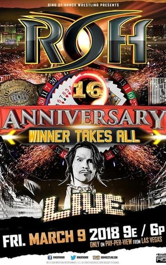 Poster of ROH 16th Anniversary